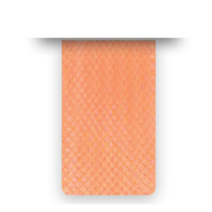 Nastro crine Orange Fluo Soft senza filo - venduto a metro - Crystal Stones