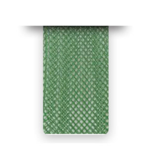 Nastro crine Dark Green Soft senza filo - venduto a metro - Crystal Stones