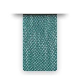 Nastro crine Chrome Green Soft senza filo - venduto a metro - Crystal Stones