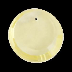 Pietra Pendente Tonda Yellow MA01-33X - Crystal Stones