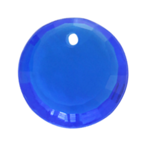 Pietra Pendente Tonda Sapphire MA01-4X - Crystal Stones