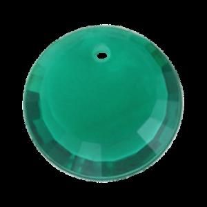 Pietra Pendente Tonda Emerald MA01-6X - Crystal Stones