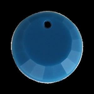 Pietra Pendente Tonda Indicolite Opaque MA01-F27 - Crystal Stones