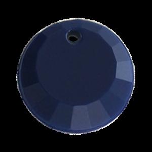 Pietra Pendente Tonda Navy Opaque MA01-F28 - Crystal Stones