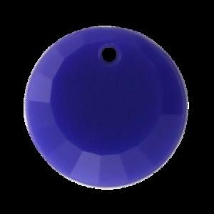 Pietra Pendente Tonda Blue Opaque MA01-F6 - Crystal Stones