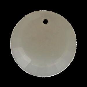Pietra Pendente Tonda Crystal Silver Opal MA01-H19X - Crystal Stones