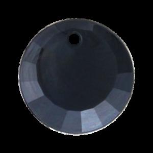 Pietra Pendente Tonda Jet Black Pearl MA01-P1 - Crystal Stones