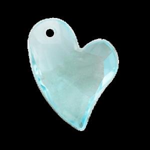 Pietra Pendente Cuore Aqua Bohemica MA02-23X - Crystal Stones