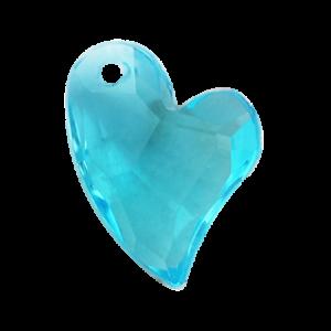 Pietra Pendente Cuore Aquamarine MA02-25X - Crystal Stones