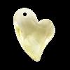 Pietra Pendente Cuore Yellow MA02-33X - Crystal Stones