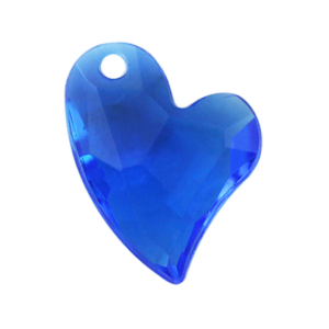 Pietra Pendente Cuore Sapphire MA02-4X - Crystal Stones