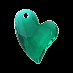 Pietra Pendente Cuore Emerald MA02-6X - Crystal Stones