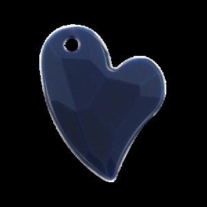 Pietra Pendente Cuore Navy Opaque MA02-F28 - Crystal Stones