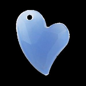 Pietra Pendente Cuore Light Sapphire Opal MA02-H15X - Crystal Stones