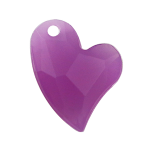 Pietra Pendente Cuore Purple Opal MA02-H5X - Crystal Stones