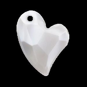 Pietra Pendente Cuore Light Gray Pearl MA02-P19 - Crystal Stones