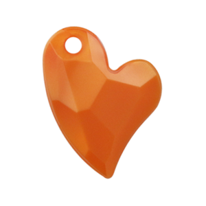 Pietra Pendente Cuore Orange Pearl MA02-P32 - Crystal Stones