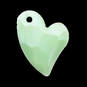 Pietra Pendente Cuore Chrysolite Pearl MA02-P34 - Crystal Stones