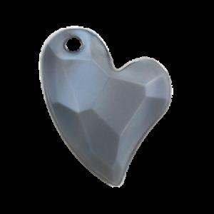 Pietra Pendente Cuore Gray Pearl MA02-P35 - Crystal Stones