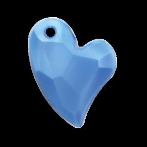 Pietra Pendente Cuore Light Sapphire Pearl MA02-P4 - Crystal Stones