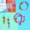 All in Pink - Kit DIY 380 Pezzi + 1 Pinza + 7,6mt filo - Kit Do It Yourself - Crystal Stones