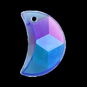 Pietra Pendente Mezzaluna Sapphire AB MA03-A4X - Crystal Stones