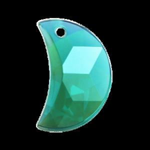 Pietra Pendente Mezzaluna Emerald AB MA03-A6X - Crystal Stones