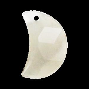 Pietra Pendente Mezzaluna Crystal Silver Opal MA03-H19X - Crystal Stones