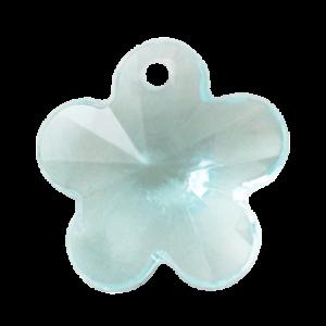 Pietra Pendente Fiore Aqua Bohemica MA05-23X - Crystal Stones