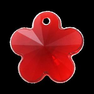 Pietra Pendente Fiore Siam MA05-41X - Crystal Stones