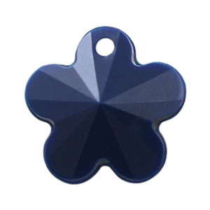 Pietra Pendente Fiore Navy Opaque MA05-F28 - Crystal Stones