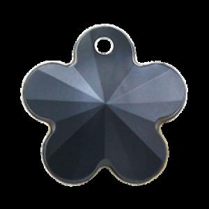 Pietra Pendente Fiore Jet Black Pearl MA05-P1 - Crystal Stones