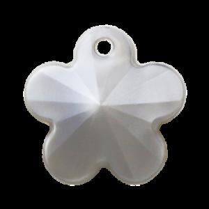 Pietra Pendente Fiore Light Gray Pearl MA05-P19 - Crystal Stones