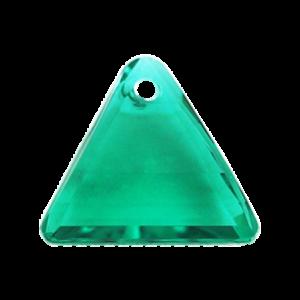 Pietra Pendente Triangolo Emerald MA08-6X - Crystal Stones