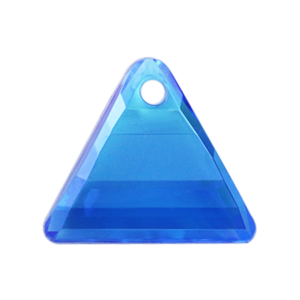Pietra Pendente Triangolo Sapphire AB MA08-A4X - Crystal Stones