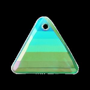 Pietra Pendente Triangolo Emerald AB MA08-A6X - Crystal Stones