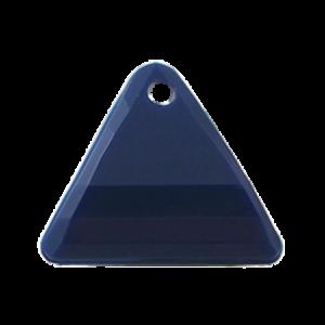 Pietra Pendente Triangolo Navy Opaque MA08-F28 - Crystal Stones