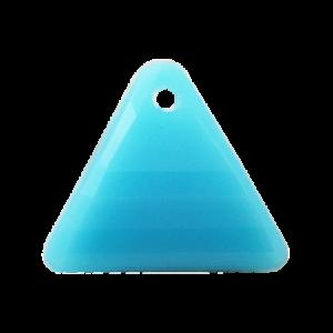 Pietra Pendente Triangolo Aquamarine Opaque MA08-F3 - Crystal Stones