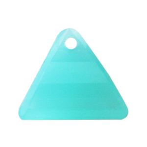 Pietra Pendente Triangolo Aqua Bohemica Opal MA08-H16X - Crystal Stones