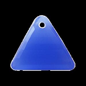 Pietra Pendente Triangolo Sapphire Opal MA08-H4X - Crystal Stones
