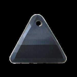 Pietra Pendente Triangolo Jet Black Pearl MA08-P1 - Crystal Stones
