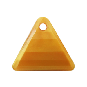 Pietra Pendente Triangolo Topaz Pearl MA08-P16 - Crystal Stones
