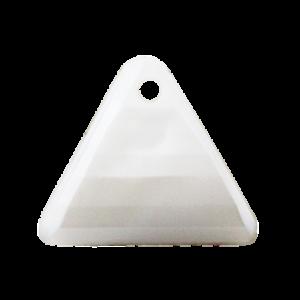Pietra Pendente Triangolo White Pearl MA08-P2 - Crystal Stones