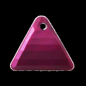 Pietra Pendente Triangolo Amethyst Pearl MA08-P24 - Crystal Stones