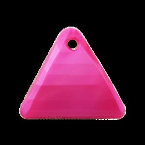 Pietra Pendente Triangolo Fucsia Pearl MA08-P30 - Crystal Stones