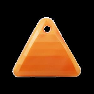 Pietra Pendente Triangolo Orange Pearl MA08-P32 - Crystal Stones