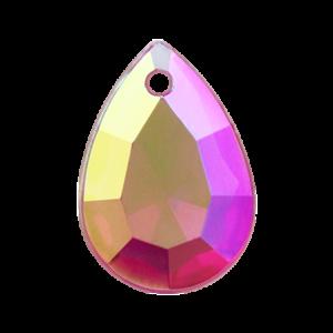 Pietra Pendente Goccia Fucsia AB MA10-A31X - Crystal Stones