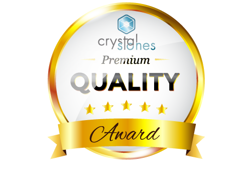 Crystal Stones Premium Quality Award