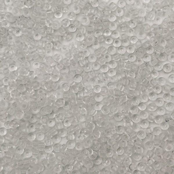 Rocailles Trasparente Crystal 11/0 - Confezione 10gr - Crystal Stones