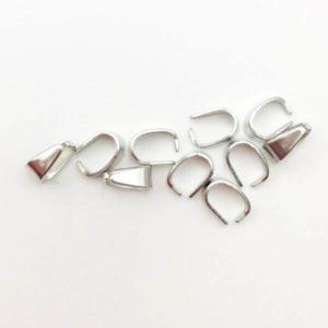 Chiusura anello a molla Silver 6mm - CL0006 - Crystal Stones